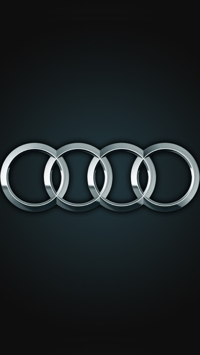 Audi Logo iPhone Wallpaper 640x1136
