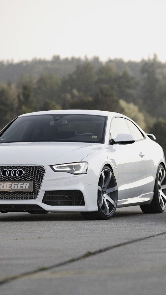 Audi A5 iPhone 5 wallpaper 640x1136