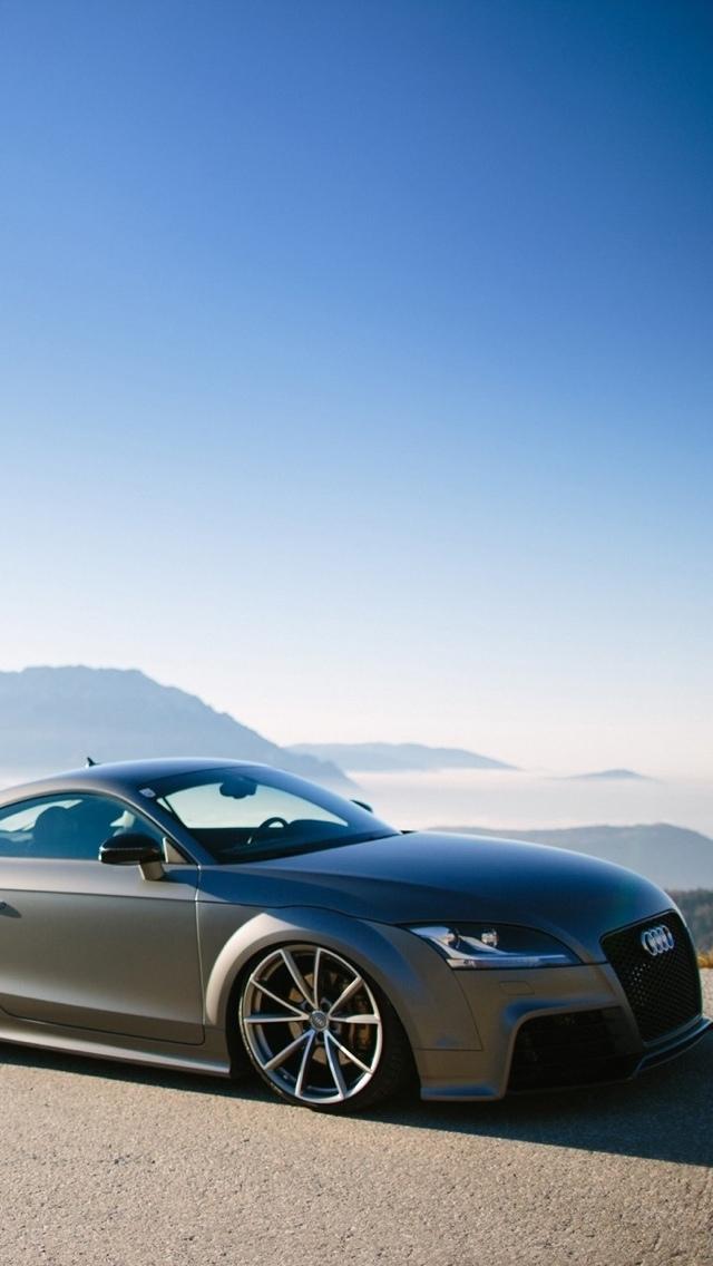 Audi background TT iPhone 5 wallpaper 640x1136