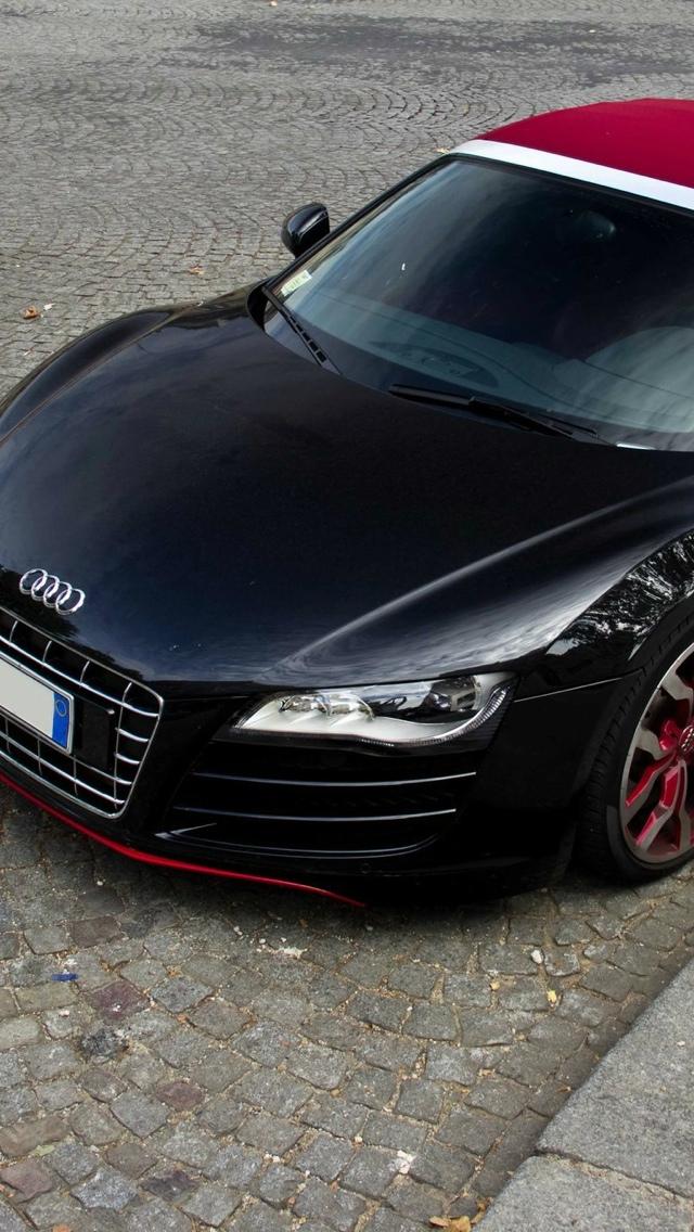 Audi car iPhone 5 wallpaper 640x1136