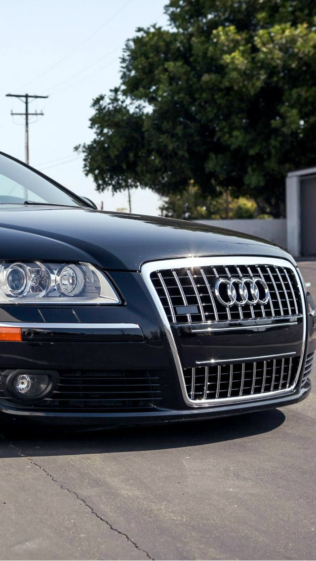 audi A6 iPhone 5 wallpaper 640x1136