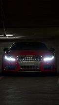 Audi Red iPhone Wallpaper