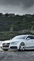 iphone background with Silver audi a5