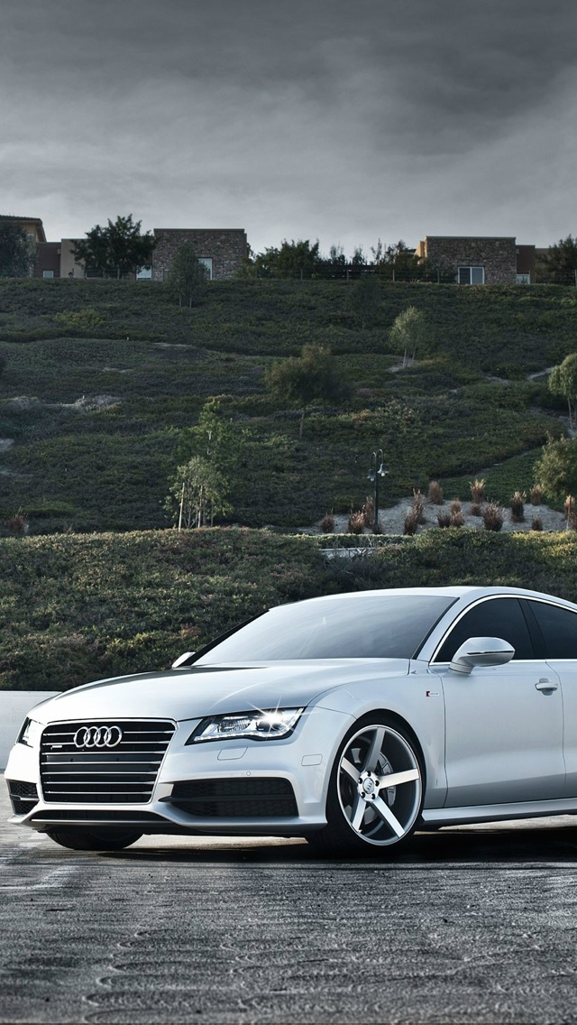 Audi Car iPhone 5 wallpaper 640x1136