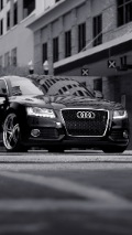 audi fron background for iphone