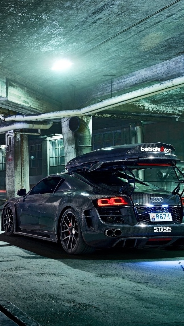 Tuned Audi Car iPhone Wallpaper 640x1136