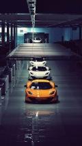 McLaren Car Auto Factory iPhone Wallpaper thumb 121x214