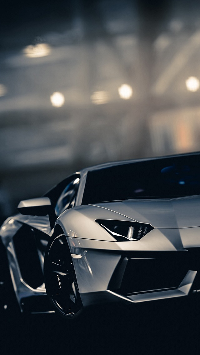 Lamborghini Aventador, Luxury Car, Auto, Wallpaper for iPhone 5 640x1136