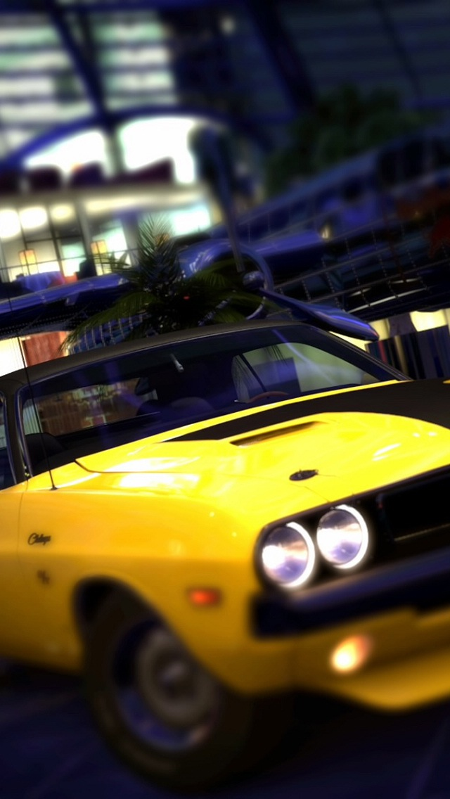 Wallpaper for iPhone 5 American Muscle Car 640x1136