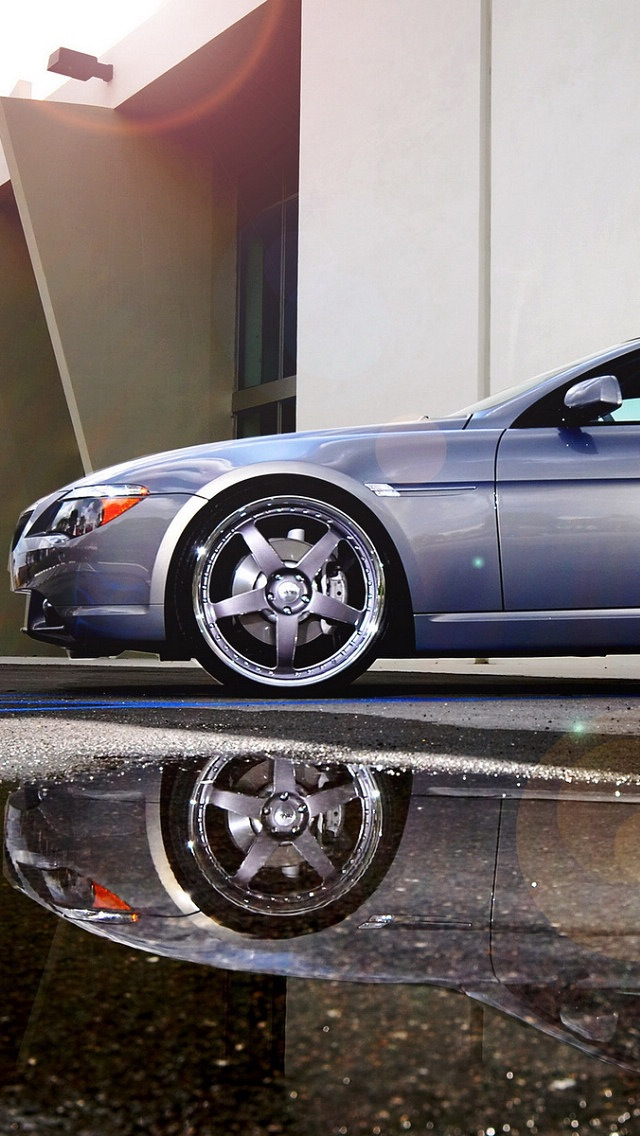 BMW 645 Wallpaper for iPhone 5 640x1136