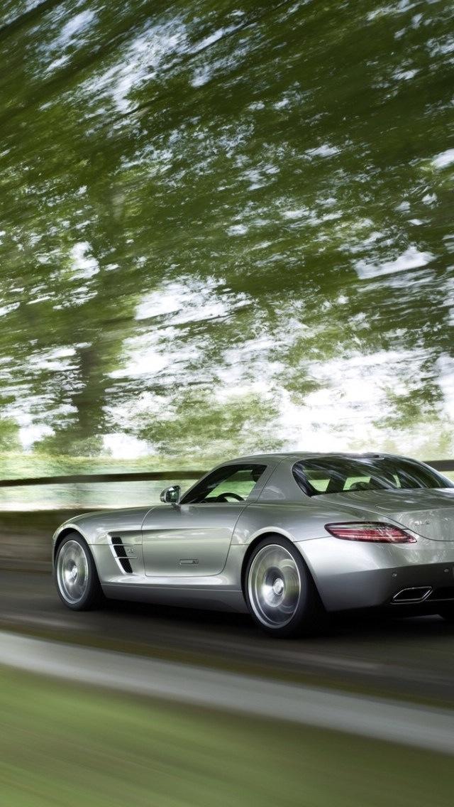 Mercedes Benz, SLS AMG 640x1136