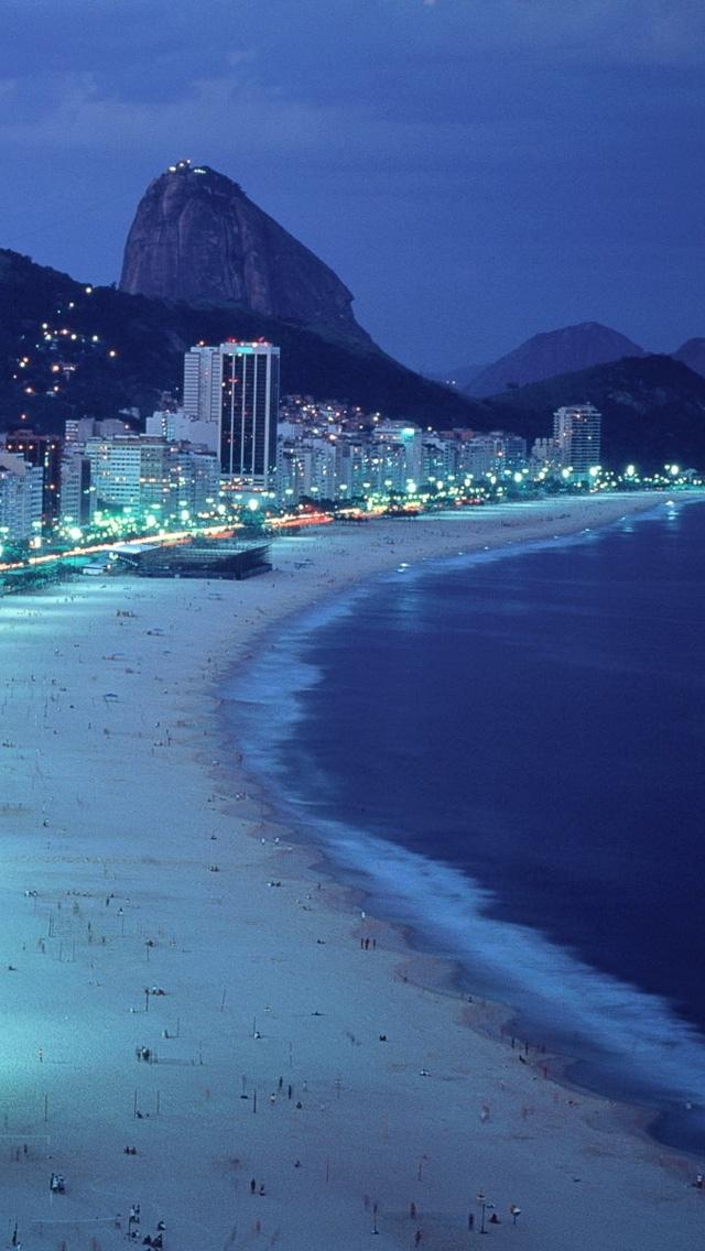 Alicante City view iPhone 5 wallpaper 640*1136