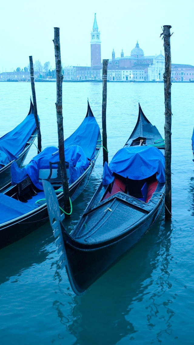 Venice City view iPhone 5 wallpaper 640*1136