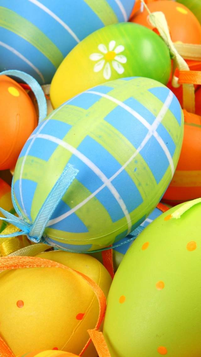 Easter Eggs iPhone 5 wallpaper 640*1136