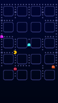Pac Man Icon Skin Background for iPhone 5