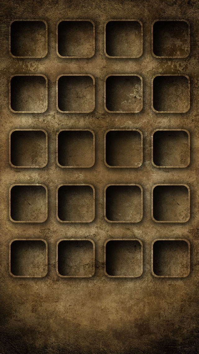 Rusty icon skins, iphone 5 wallpaper 640x1136