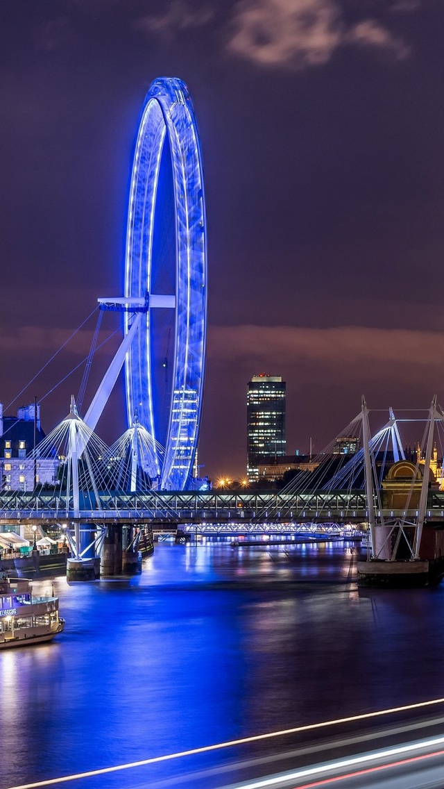 London Eye iPhone 5 wallpaper 640*1136