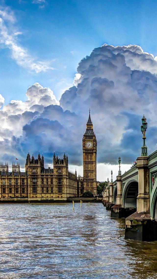 London iPhone 5 wallpaper 640*1136
