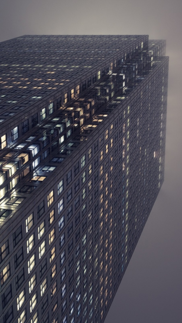 Skyscraper London iPhone 5 wallpaper 640*1136