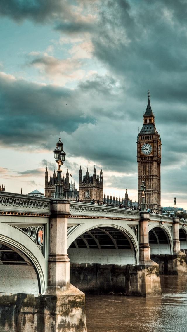 Bridge London iPhone 5 wallpaper 640*1136