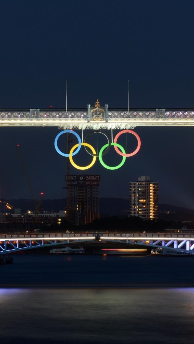 Olympics London View iPhone 5 wallpaper 640*1136