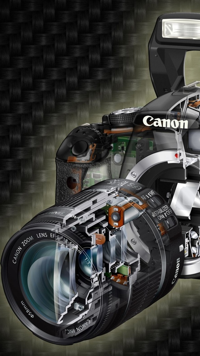 Canon Professional Camera, Mark II 5D, 640x1136