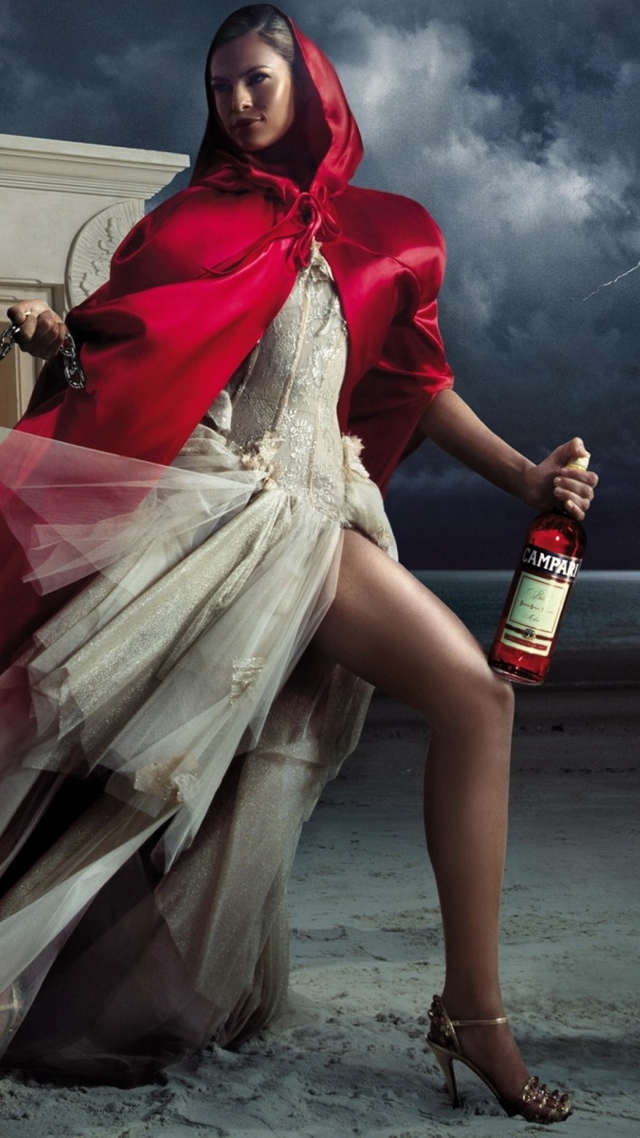 Campari Ad, Luxury Drink 640x1136