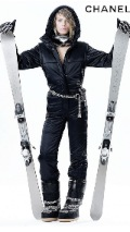 Chanel Ski Gear Collection Ad 121x214