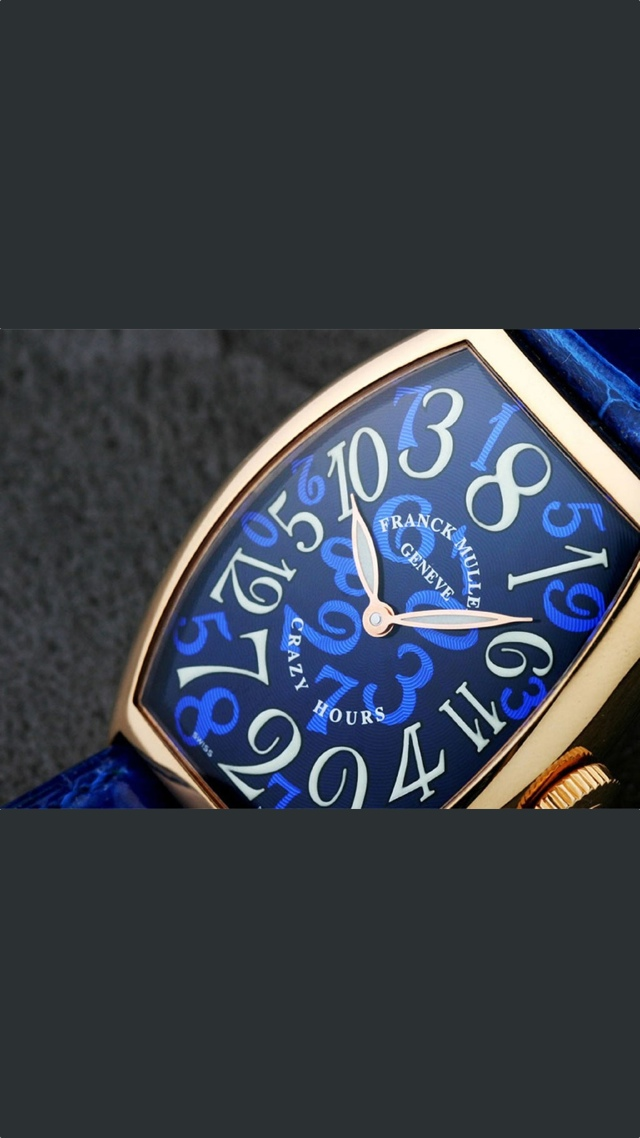 Franck Muller Watch Ad 640x1136