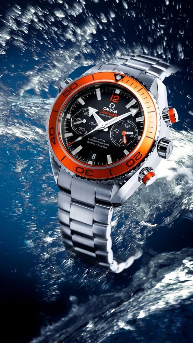 Omega Seamaster Luxury Watch 640x1136