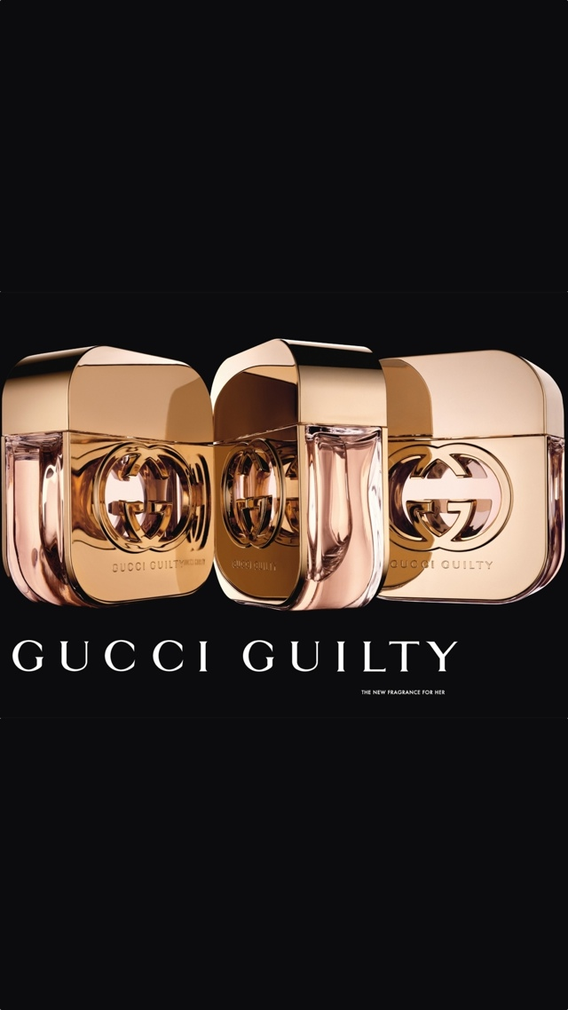 Luxury Perfume Gucci Guilty Ad Wallpaper 640x1136