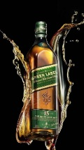 Luxury, Whiskey Brand, Johnnie Walker, Green Label 121x214