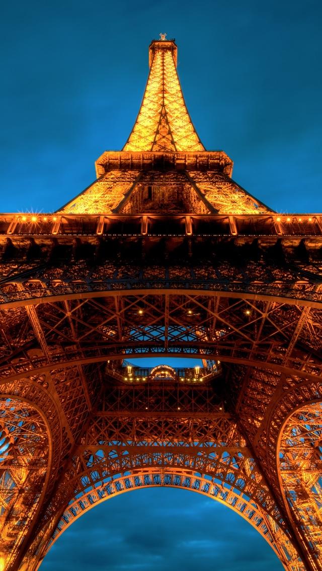 Paris Tower iPhone 5 wallpaper 640*1136