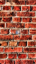 aged brick wall pattern for iPhone