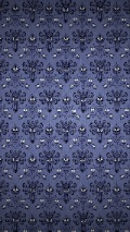 Dark blue wallpaper pattern for iPhone 5