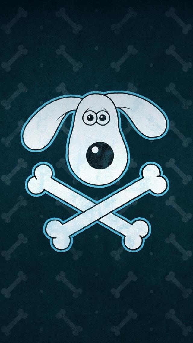 Dog Texture Wallpaper iPhone 5 640*1136