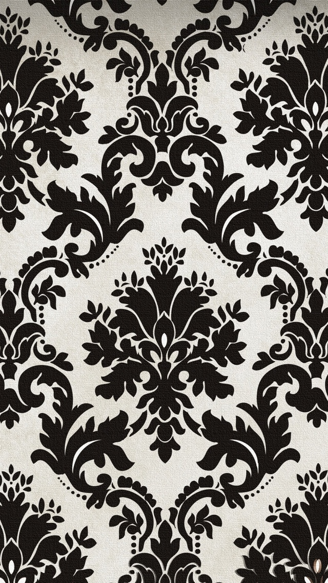 Back To Gallery Prev Next Blak And White Pattern Texture Wallpaper IPhone 5 6401136