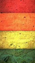 texture of painted wood deck red orange yellow and green