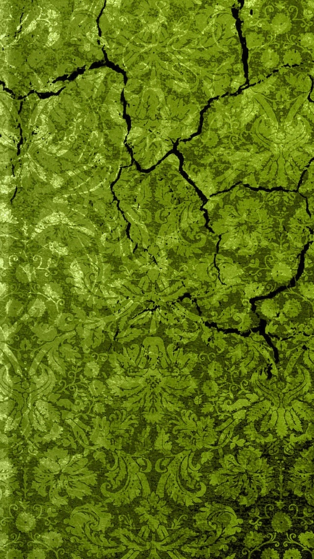 Green Texture Wallpaper iPhone 5 640*1136
